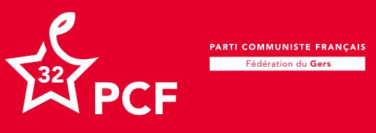 Fédération du Gers du PCF Logo